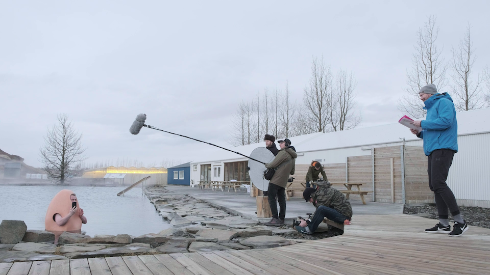 IcelandAir digital ad Cat Weasel Films BTS