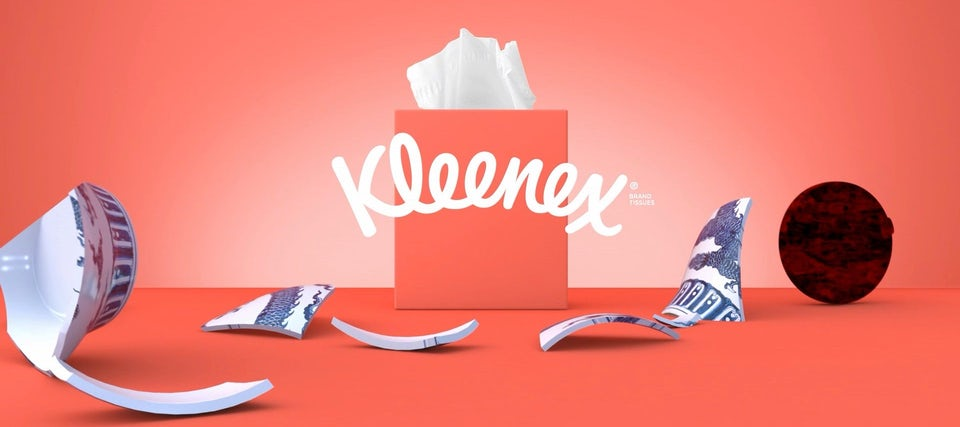Kleenex Motion Foundry contextual ad