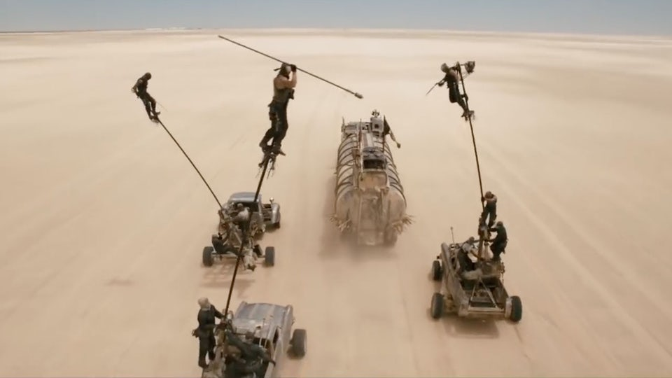 Mad Max CGI video production