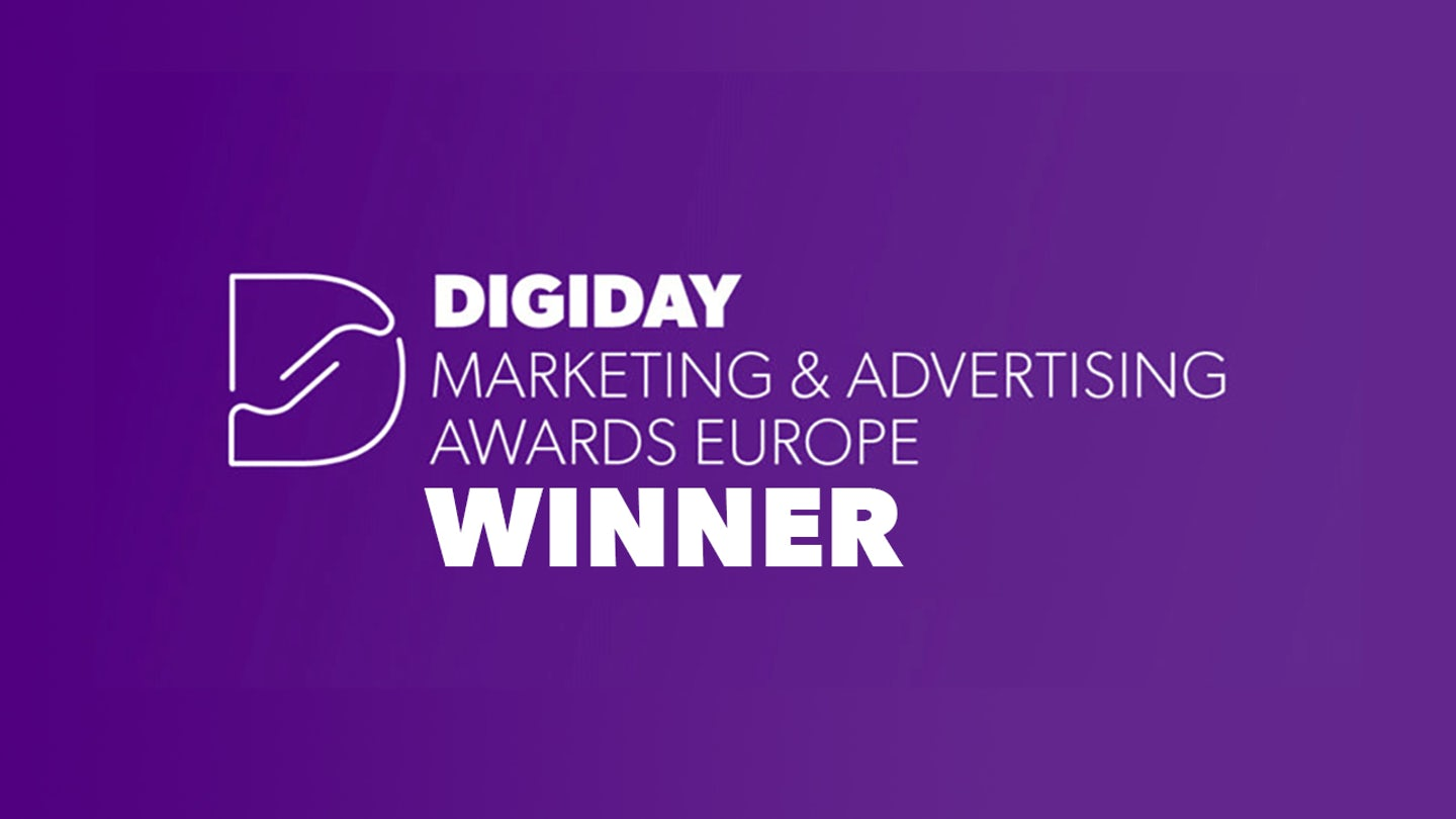 Digiday Europe Awards Winner Genero