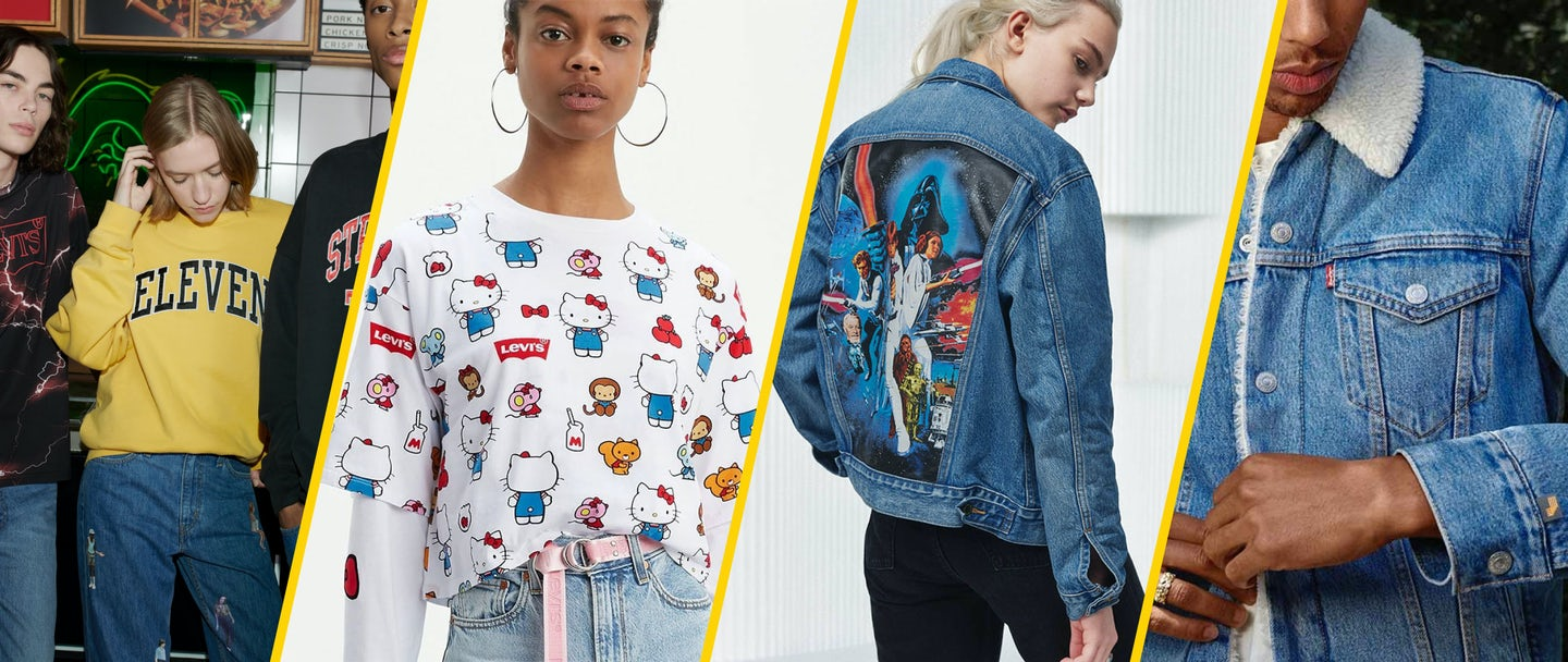 Levi's brand collaborations Genero