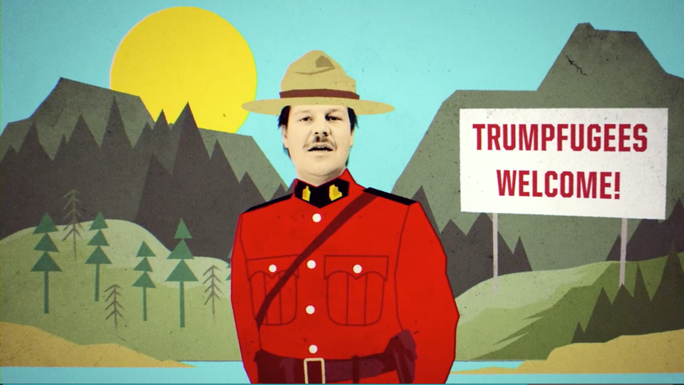 Donald Trump Makes Me Wanna Smoke Crack Ledinsky music video Genero