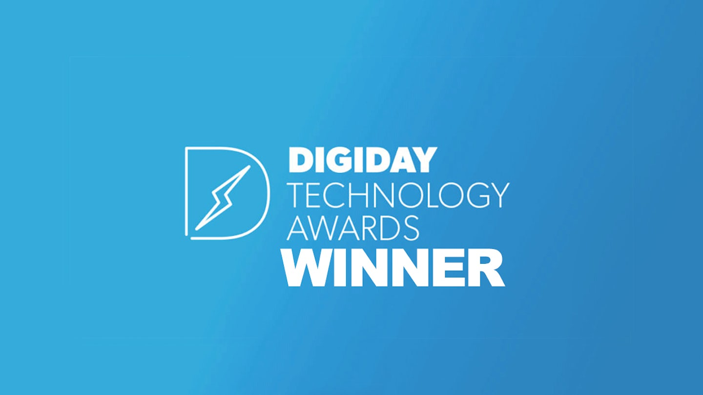 Genero Digiday Award Winner