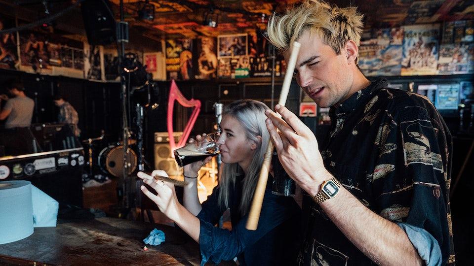 Guinness Harp brand video BTS Genero